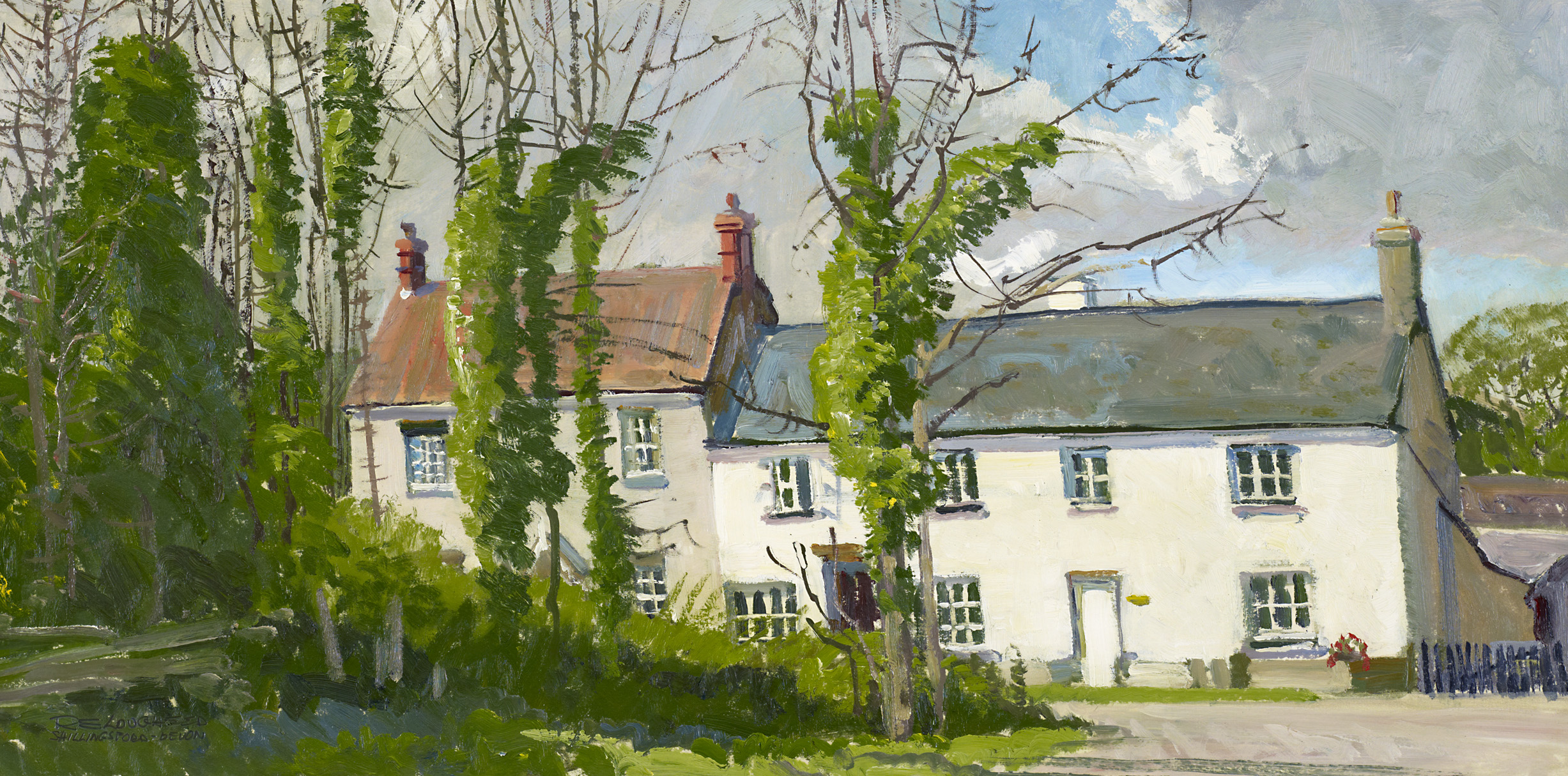 House At Shillingsfor... by  Robert Lougheed - Masterpiece Online