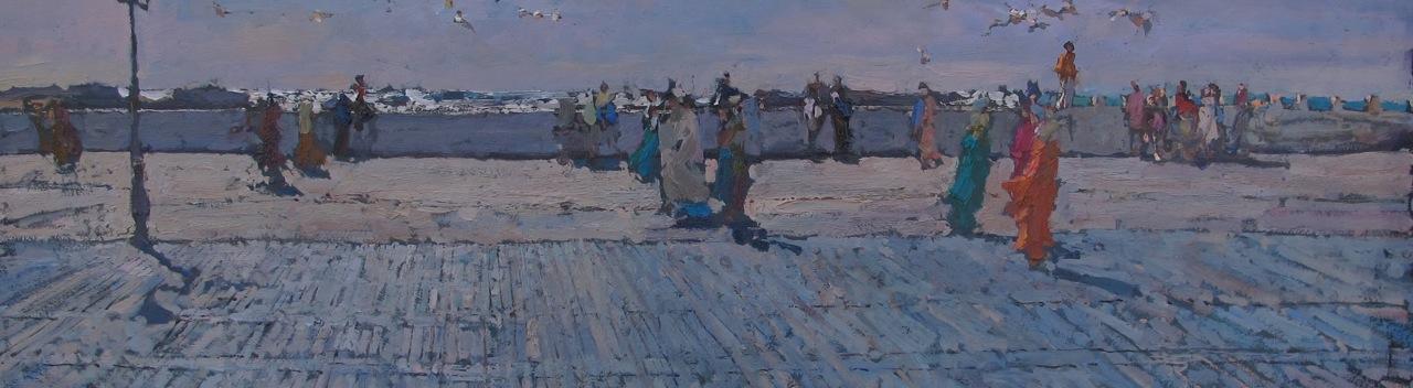 Promenade by  Daud Akhriev - Masterpiece Online