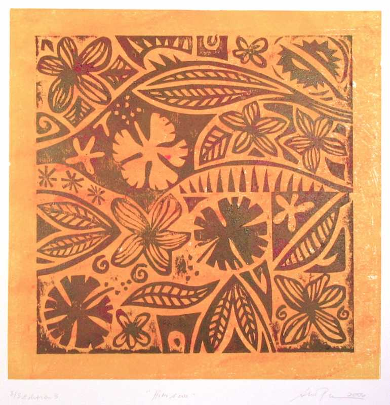 Hibiscus Ed.7 by  Sue Pearson - Masterpiece Online