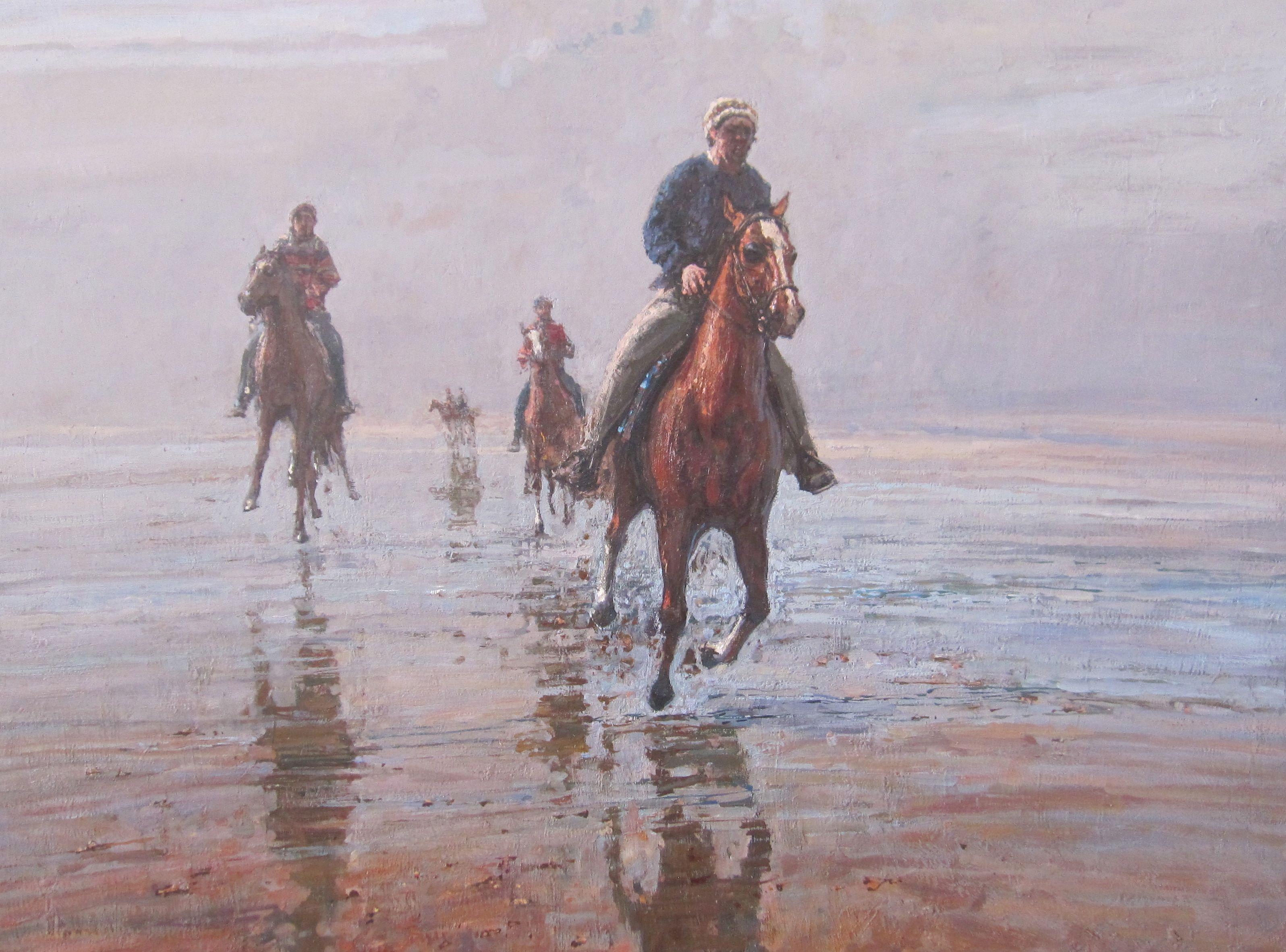 Gallop by  Daud Akhriev - Masterpiece Online