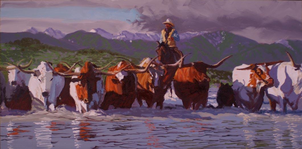 Salt River Crossing by  Glen Edwards - Masterpiece Online