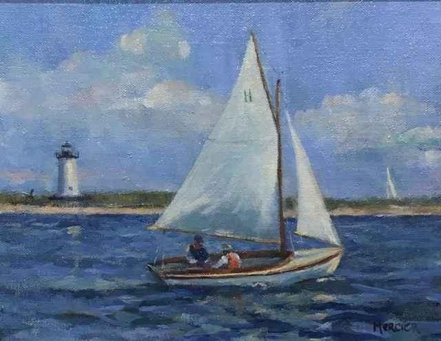 Sunday Sail by  Meg Mercier - Masterpiece Online