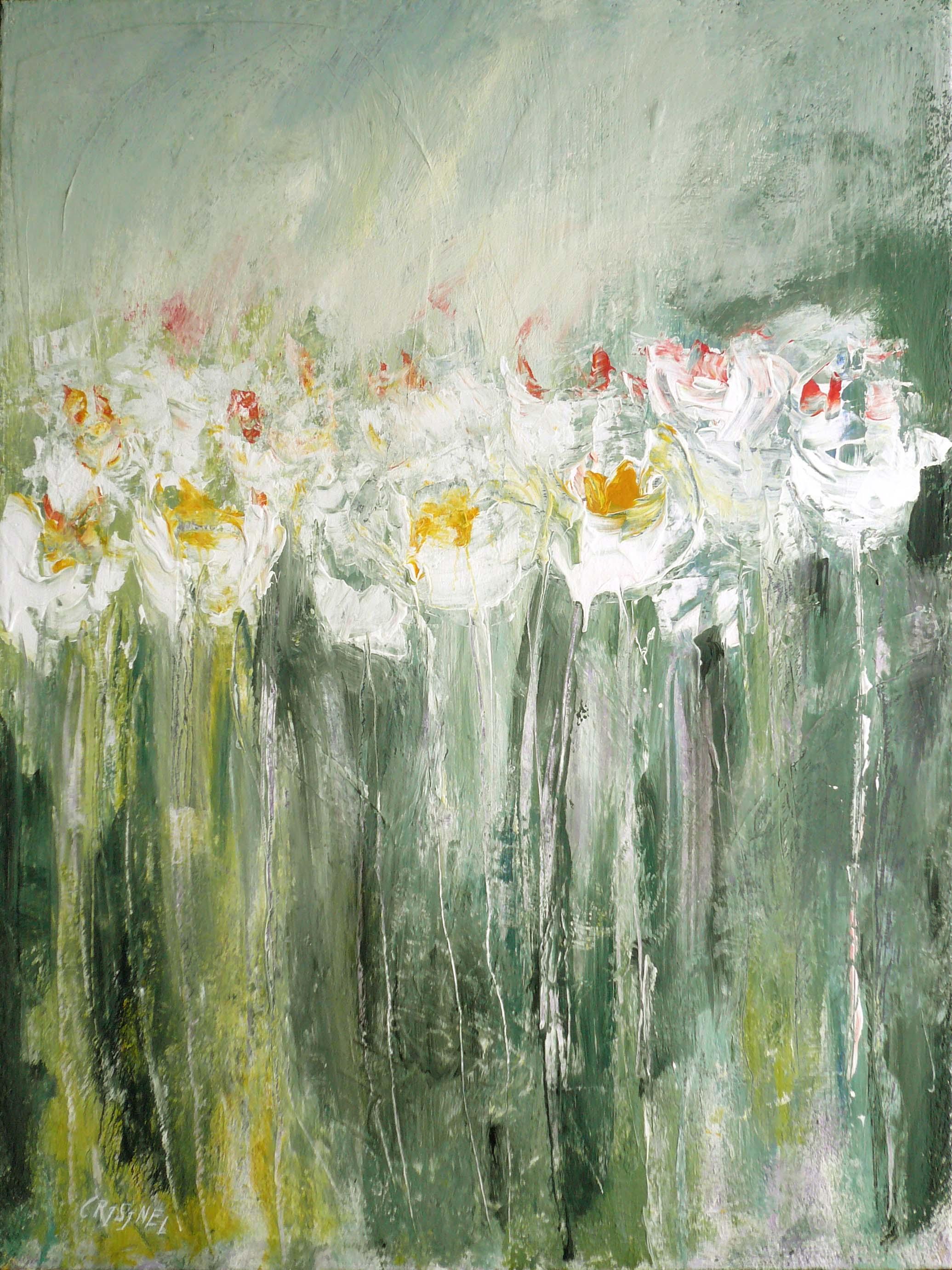 Les fleurs blanches by   CRISINEL - Masterpiece Online