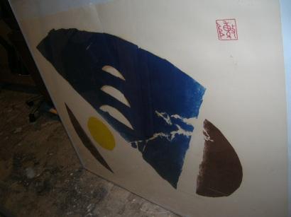 The Moon (Diptych) by  Chai Tiug Shitz - Masterpiece Online