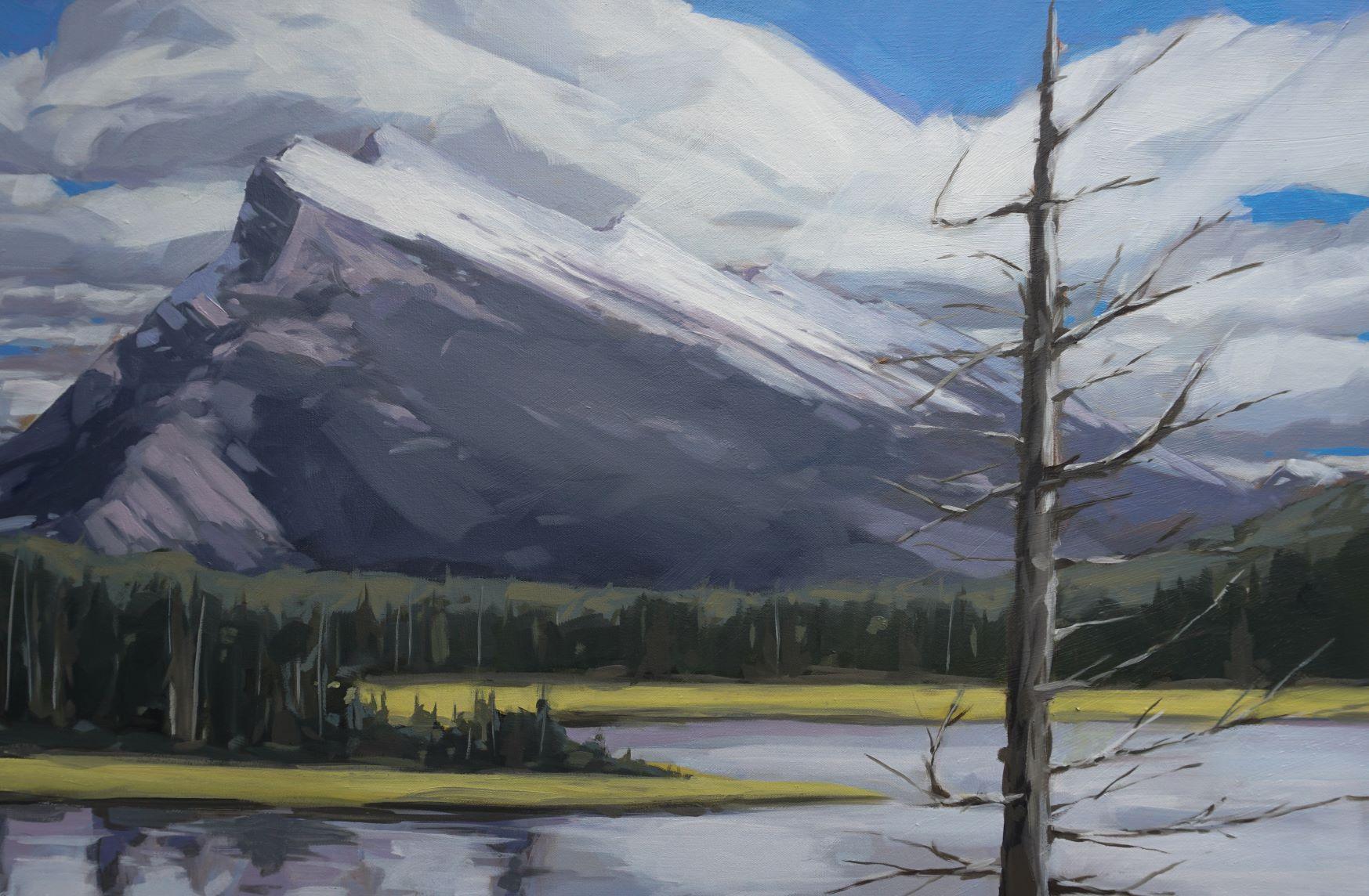 Rundle View by  Scott MacKenzie - Masterpiece Online