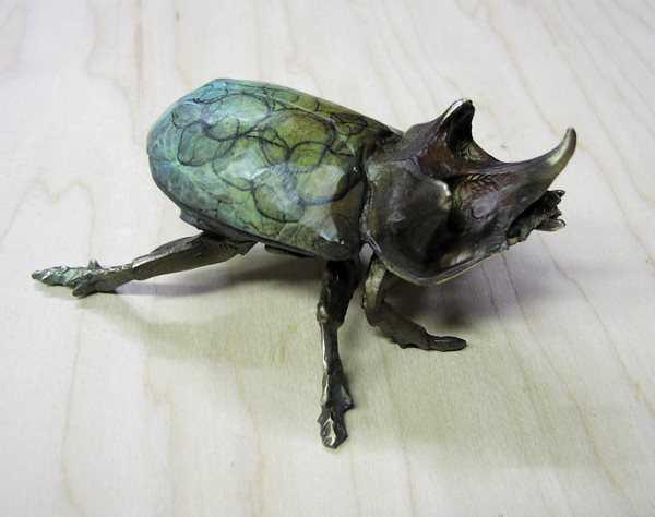 Beetle 'A'  by  Dan Chen
