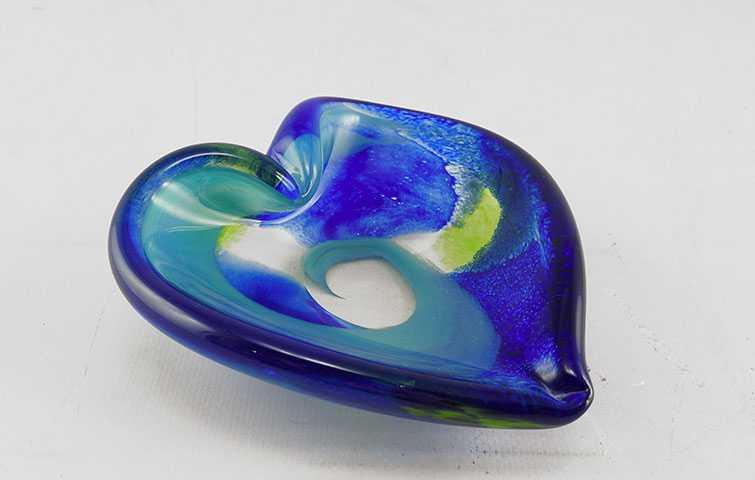 Heart Dish/Cool by  Michelle Kaptur - Masterpiece Online