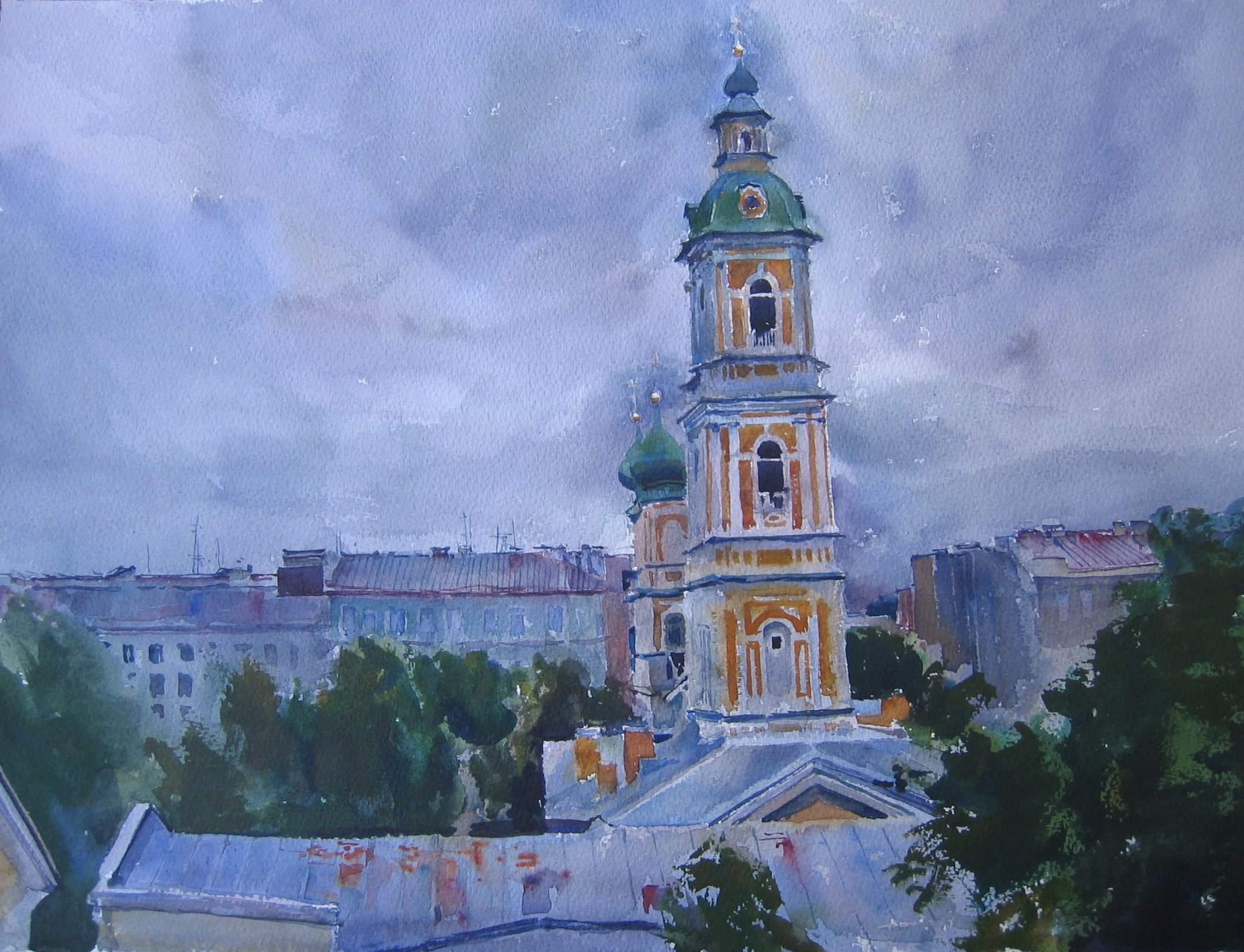 St.Petersburg Belltow... by  Daud Akhriev - Masterpiece Online