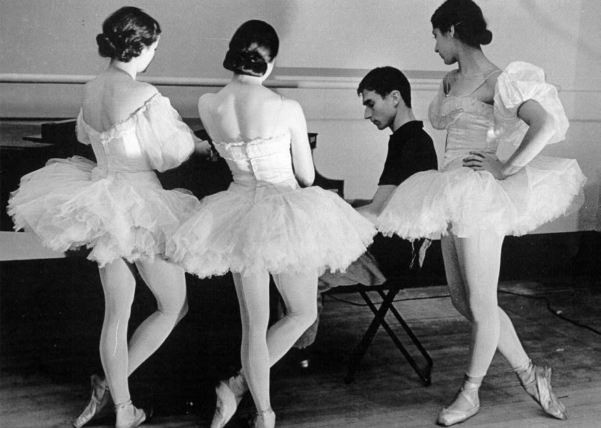Three Ballerinas with... by  Alfred Eisenstaedt - Masterpiece Online