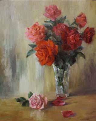 Rose Gathering by  Kelvin  Lei - Masterpiece Online