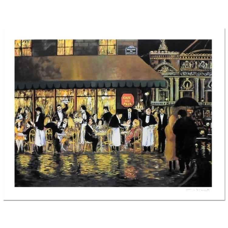 Cafe de la Paix by  Guy Buffet - Masterpiece Online