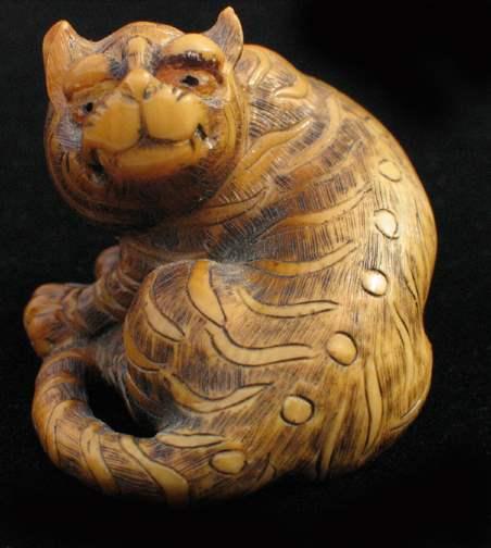 Turning Mongoose by   Netsuke - Masterpiece Online