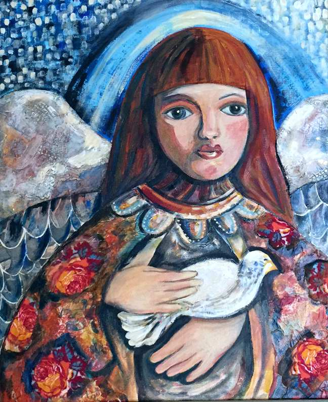 I Leave You My Peace by Mrs Fran Patterson - Masterpiece Online