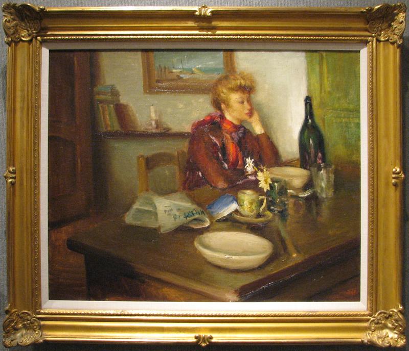 Le Portrait De Cather... by  Marcel  Dyf  - Masterpiece Online