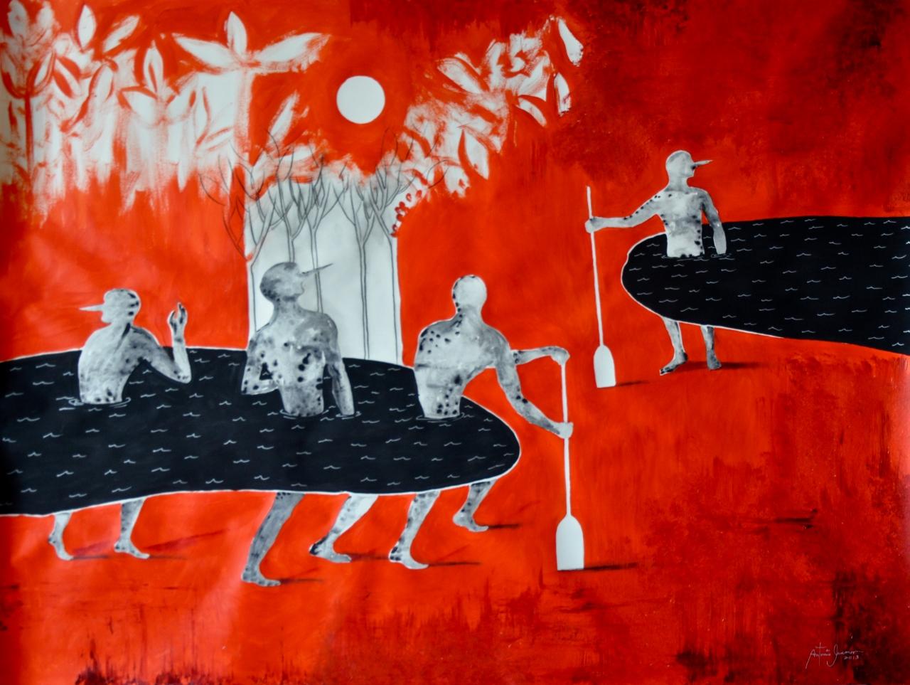 ESCAPANDO EN LA NOCHE by Mr. ANTONIO GUERRERO - Masterpiece Online