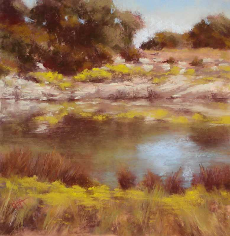 Broomweed Reflection by Mrs Dina Gregory - Masterpiece Online