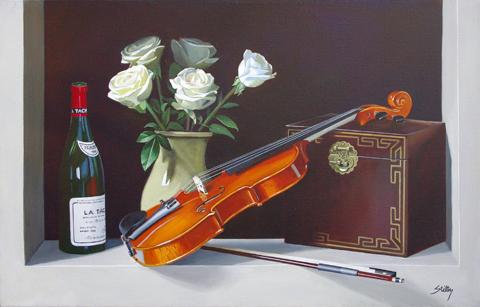 The Love of Music by  Thomas Stiltz - Masterpiece Online