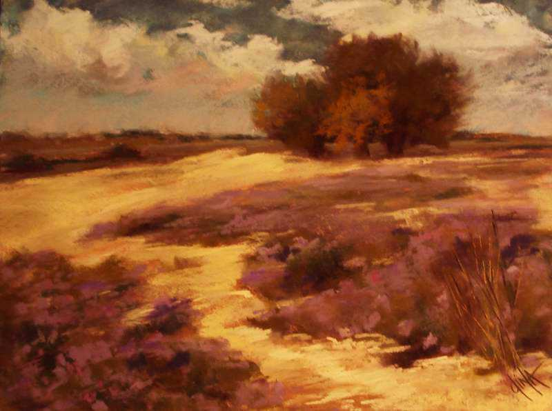 Field of Verbenas by Mrs Dina Gregory - Masterpiece Online