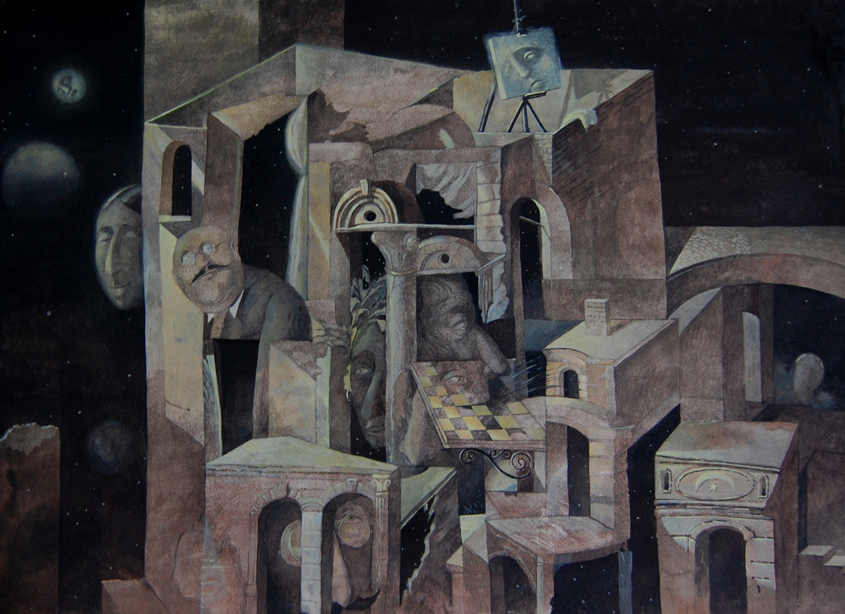 Moonlight by  Igor Karash - Masterpiece Online