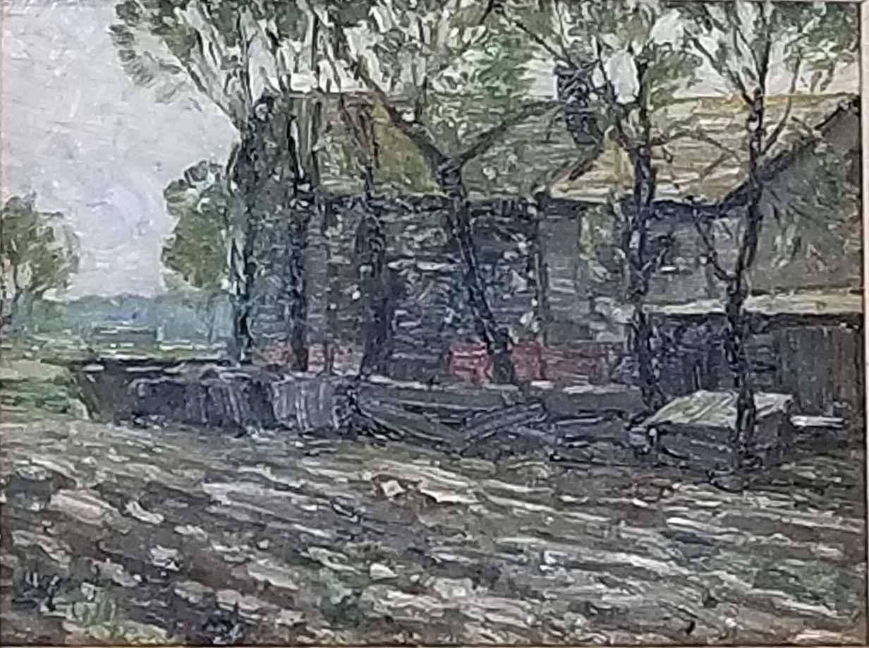 Untitled (Rustic Scen... by  Gustave Moeller - Masterpiece Online