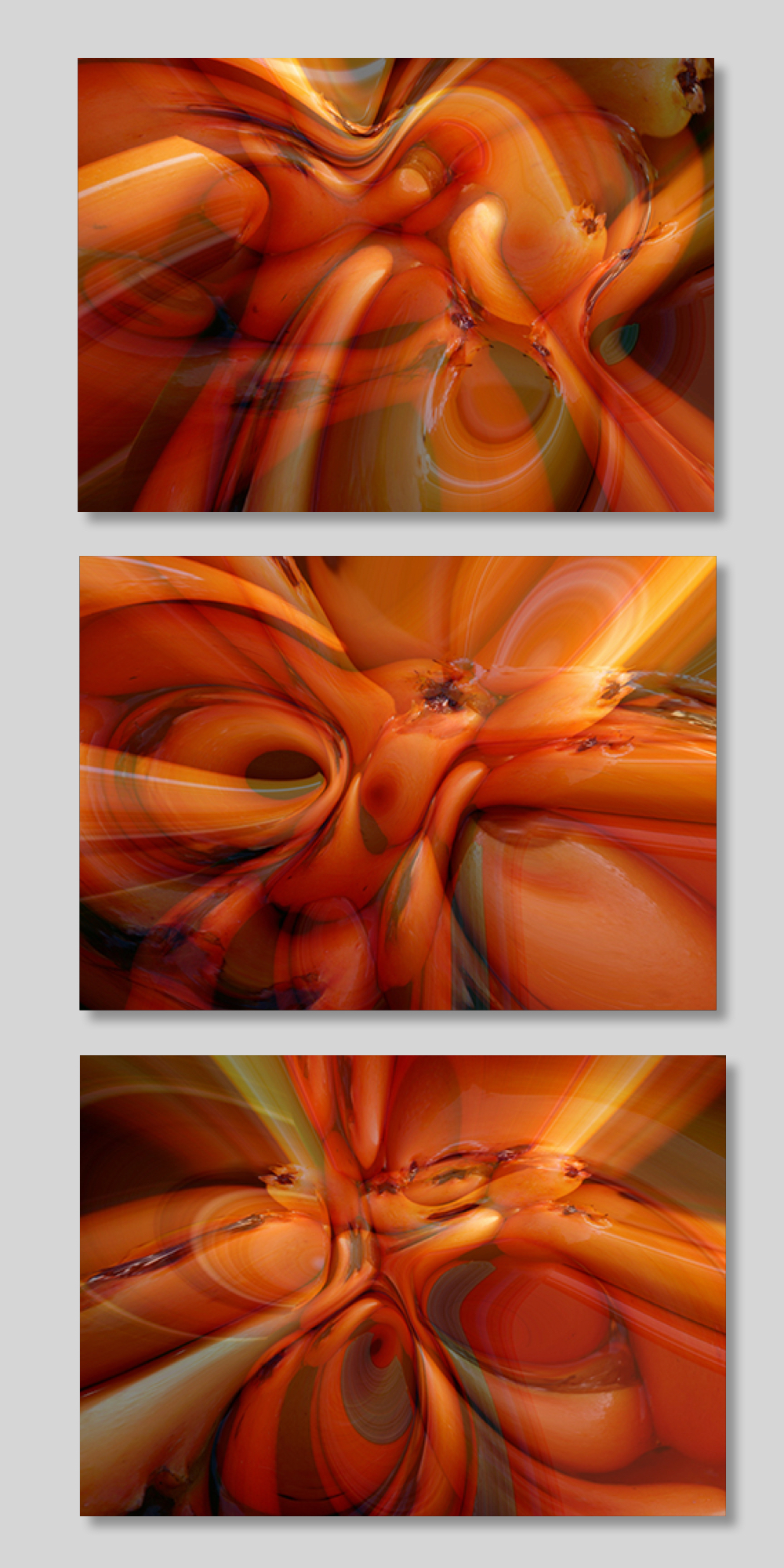 ORANGE SEQUENCE 1,2,3 by  Pietro MAFFEI - Masterpiece Online