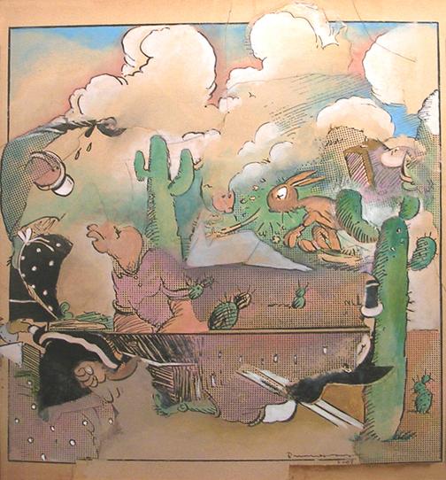 Cactus Chaos by  Bruce Helander - Masterpiece Online