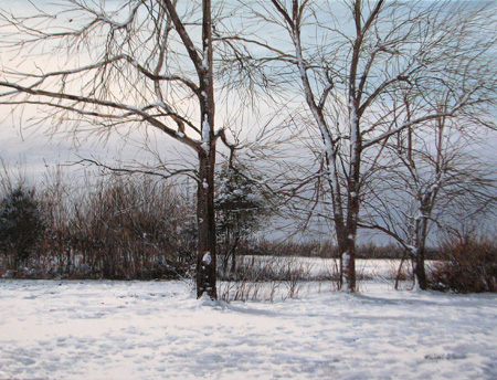 Three Trees, North Bo... by  Michael Wheeler - Masterpiece Online