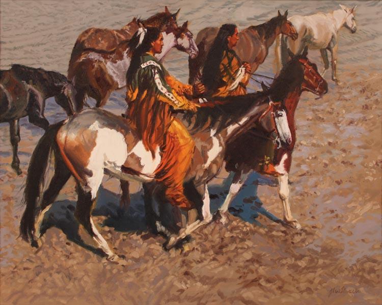 Cheyenne Shallows by  Glen Edwards - Masterpiece Online