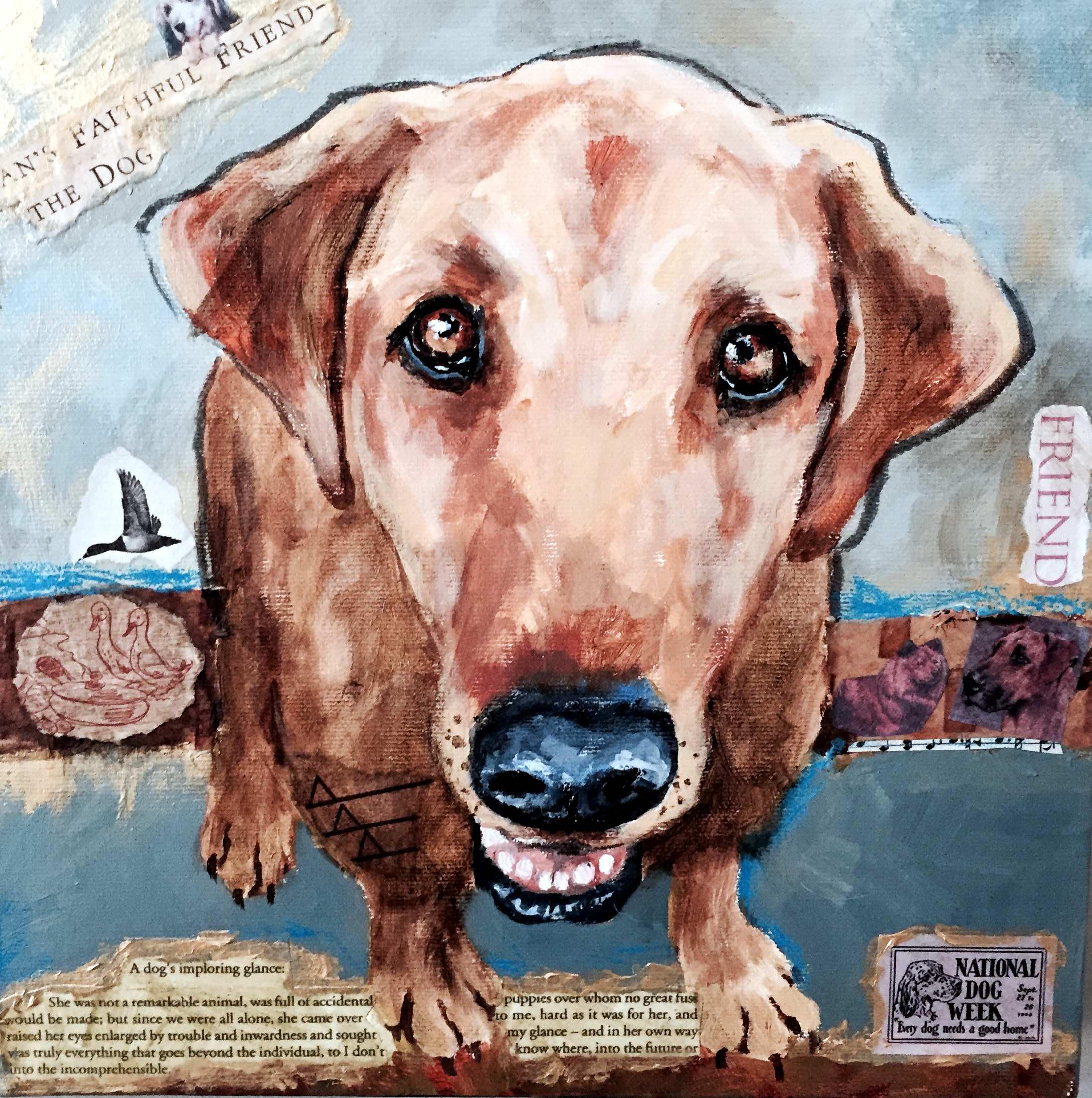 Faithful Friend by Ms Sandra Stevens - Masterpiece Online