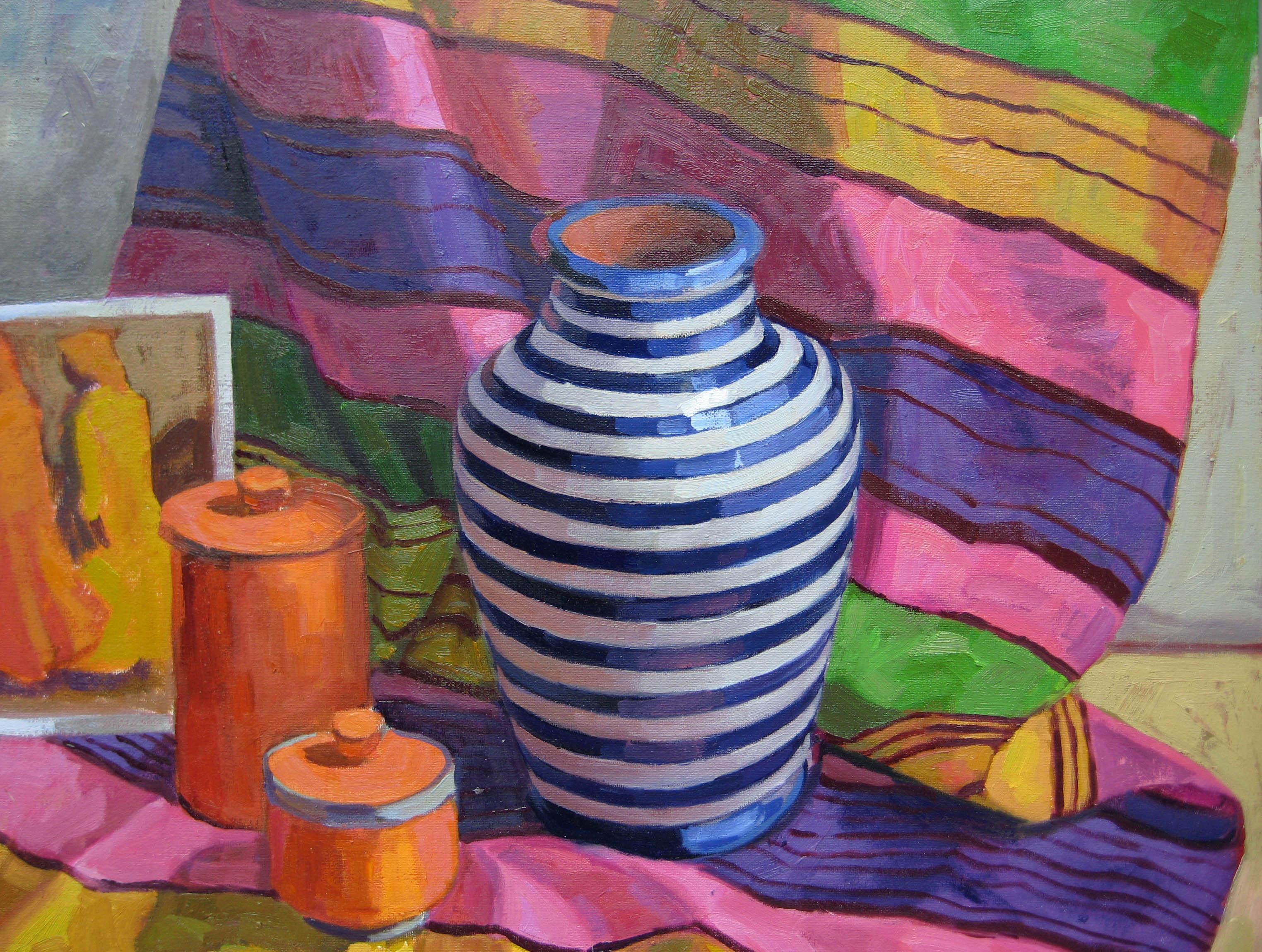 Moroccan Stripes, III by  Melissa Hefferlin - Masterpiece Online