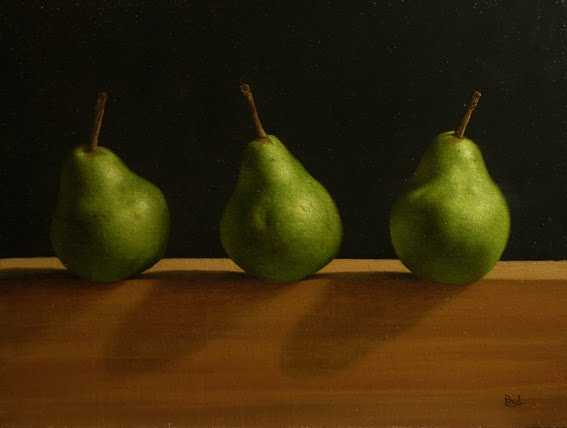 Three Of A Pear  by  Paul Coventry-Brown