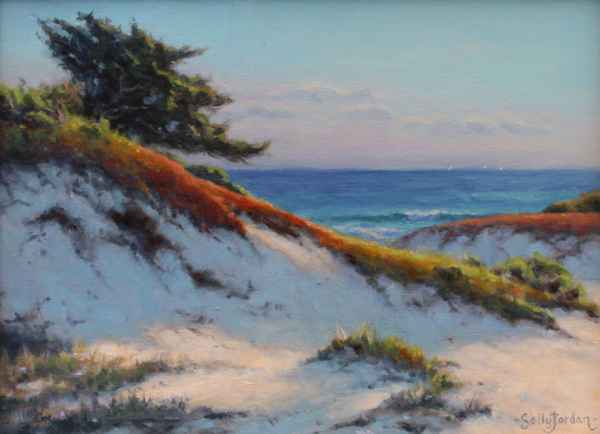 Late Afternoon Dunes by  Sally  Jordan - Masterpiece Online