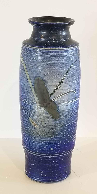 Blue Salt Glaze Vase by  Donald Reitz - Masterpiece Online