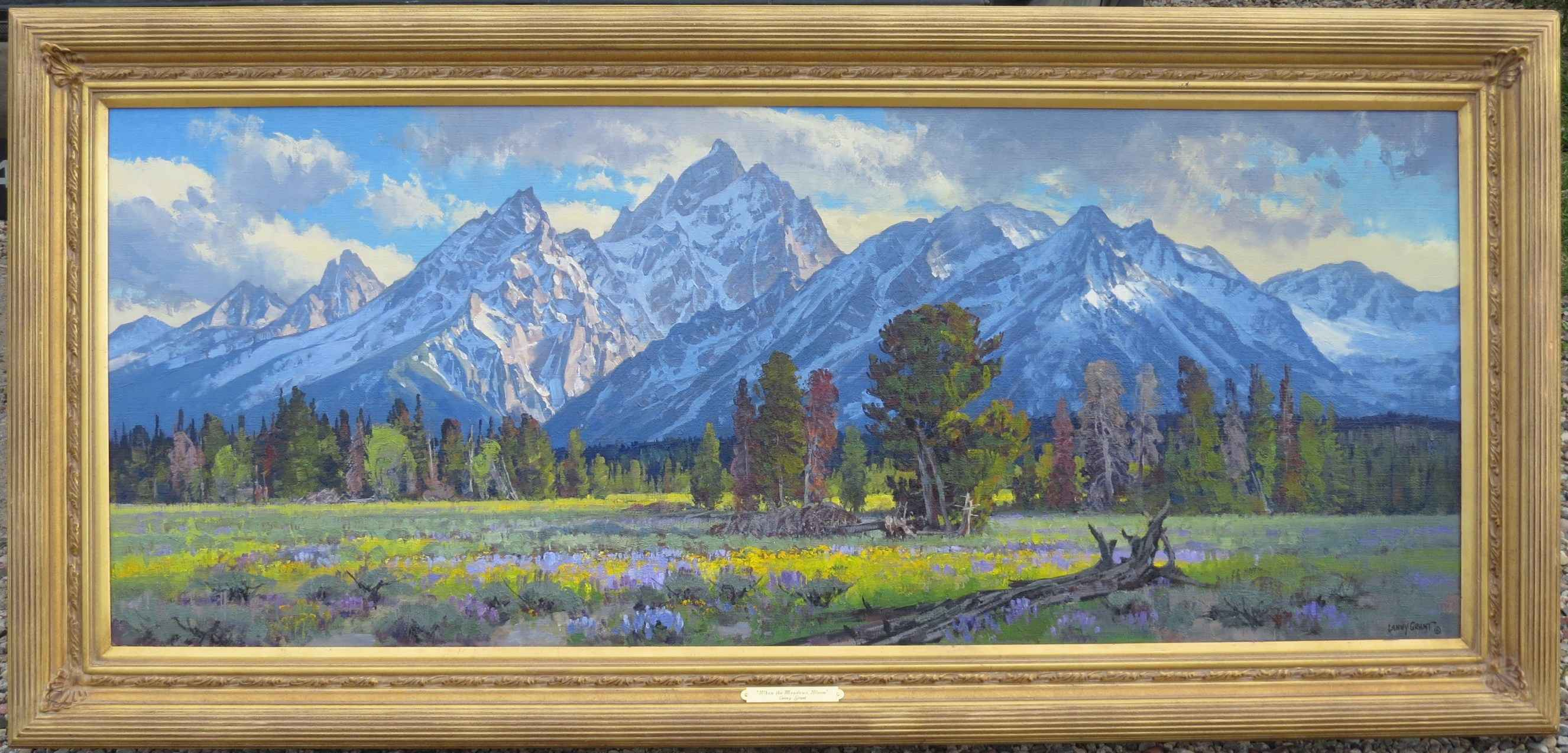 When the Meadows Bloom by  Lanny Grant - Masterpiece Online