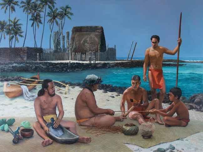 Mo'olelo by  Edwin B. Kayton - Masterpiece Online