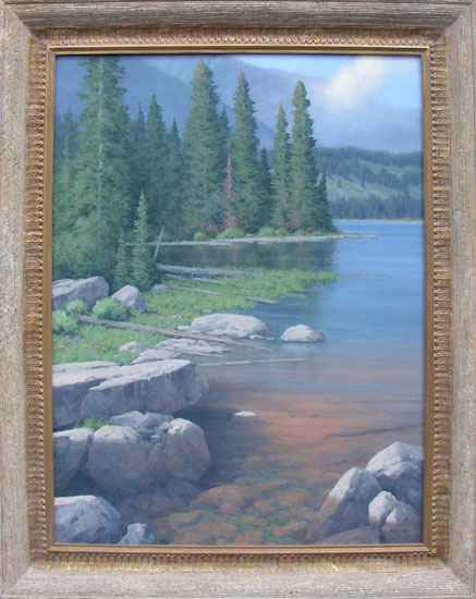 Taggart Lake by  Michael Hadley - Masterpiece Online