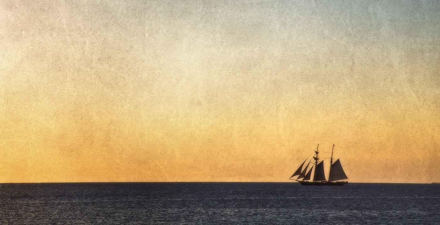 Sunset Cruise, Menems... by  Michael Stimola - Masterpiece Online