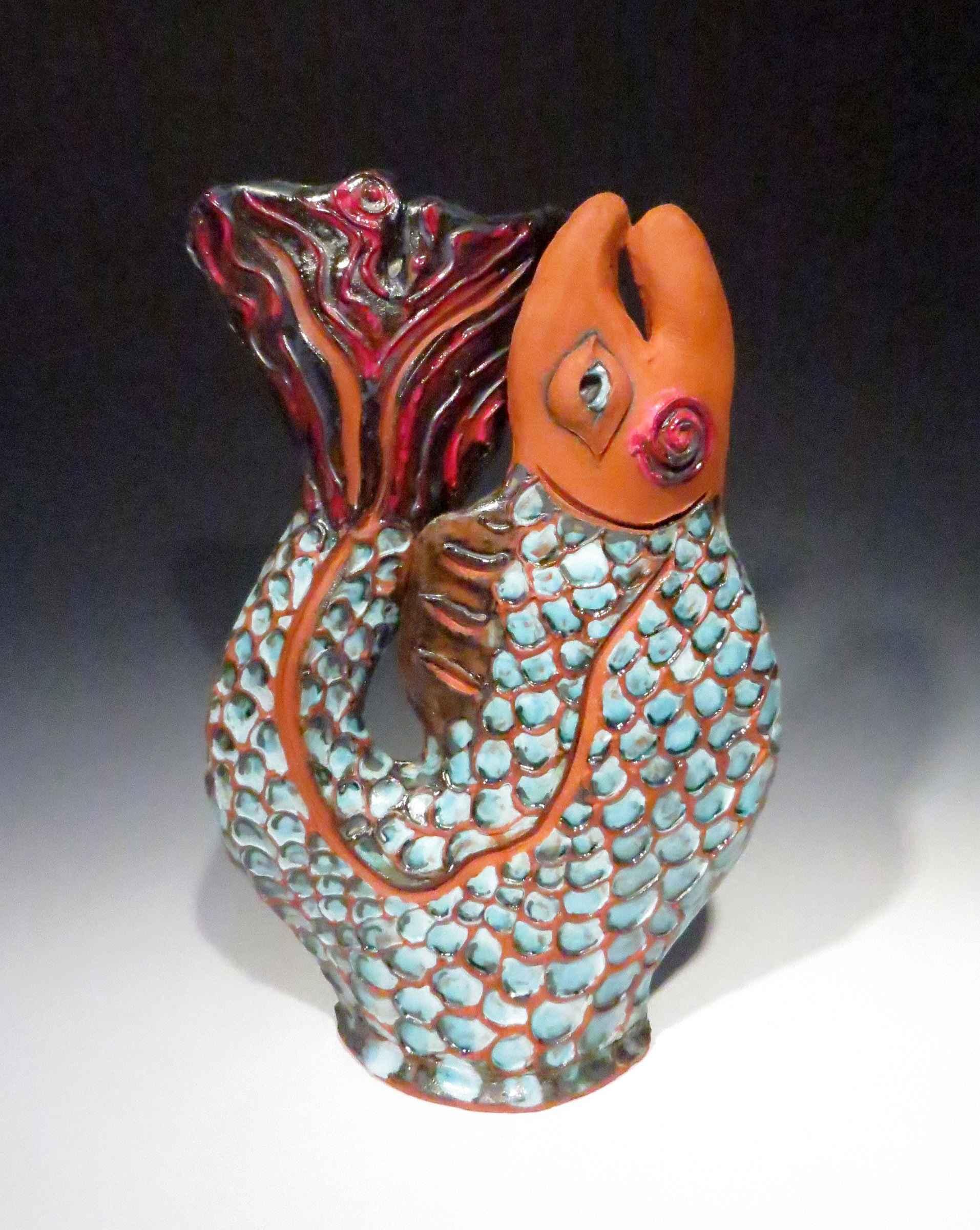 Blue Fish by  Nancy Kramer Bovee - Masterpiece Online