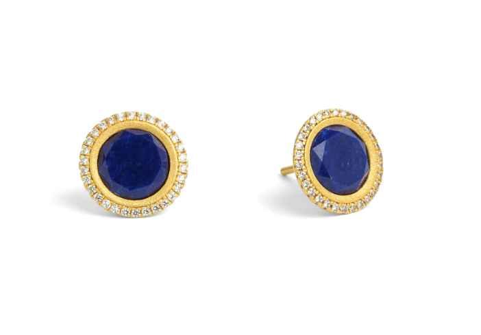 Tisinni Lapis Earrings by  Bernd Wolf - Masterpiece Online