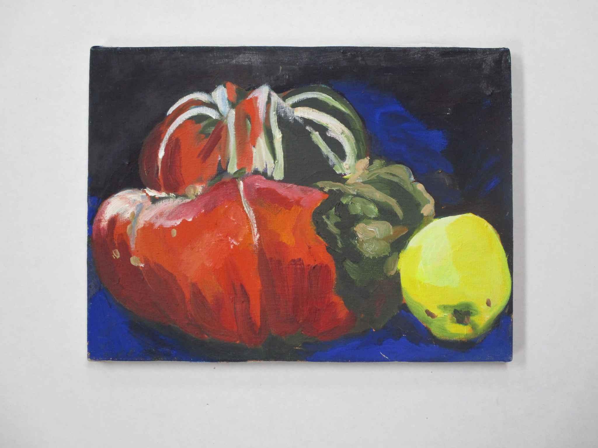 Turban Squash and Qui... by  Shirley Gittelsohn - Masterpiece Online