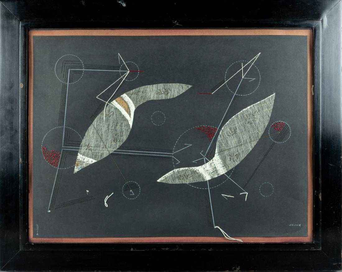 Untitled Abstract (Tw... by Ms. Lucia Stern - Masterpiece Online