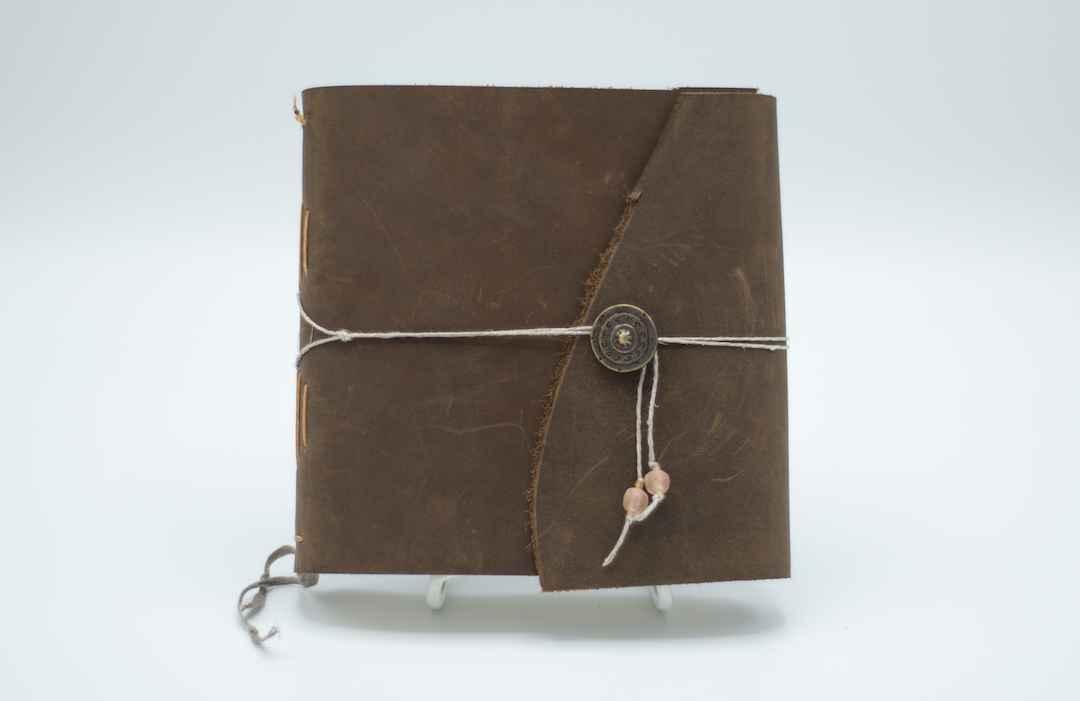 7x6 Brown Leather Jou... by  Jeff Becker 369 - Masterpiece Online