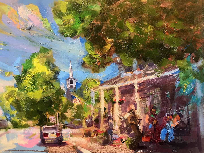 Alleys in July by  Brandon Newton - Masterpiece Online