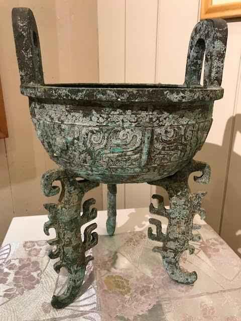 Bronze Tripod Incense... by  Unknown Unknown - Masterpiece Online