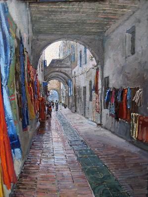 Said's Passage by  Daud Akhriev - Masterpiece Online