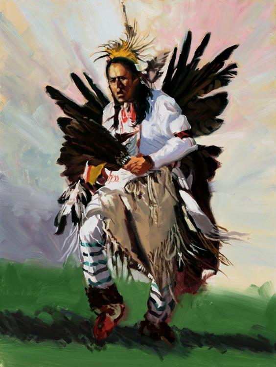 Traditional Dance by  Glen Edwards - Masterpiece Online