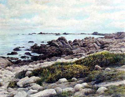 Point Lobos by  Bernard Wynne - Masterpiece Online