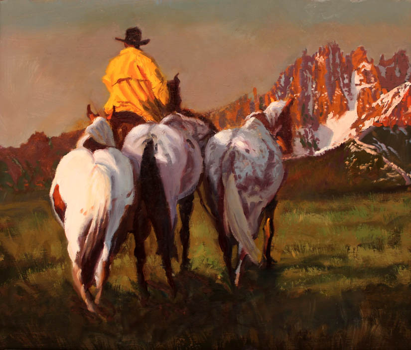 SOLD- Sawtooth Count... by  Glen Edwards - Masterpiece Online