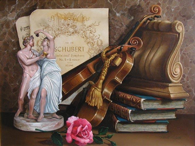 Unfinished Symphony by  Roberto Lupetti  - Masterpiece Online