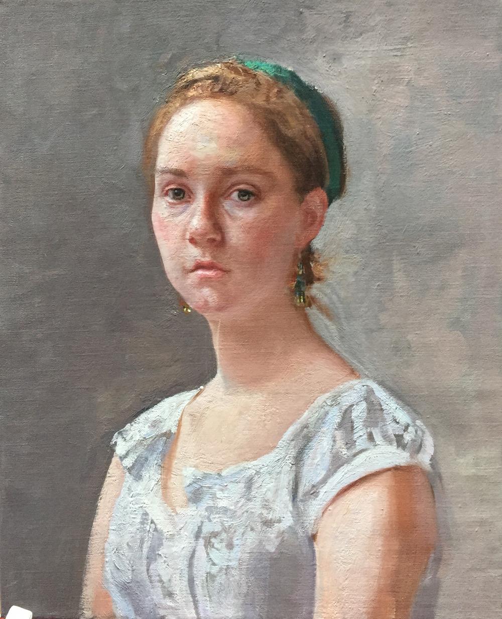 Sarah Page Study by  Daud Akhriev - Masterpiece Online